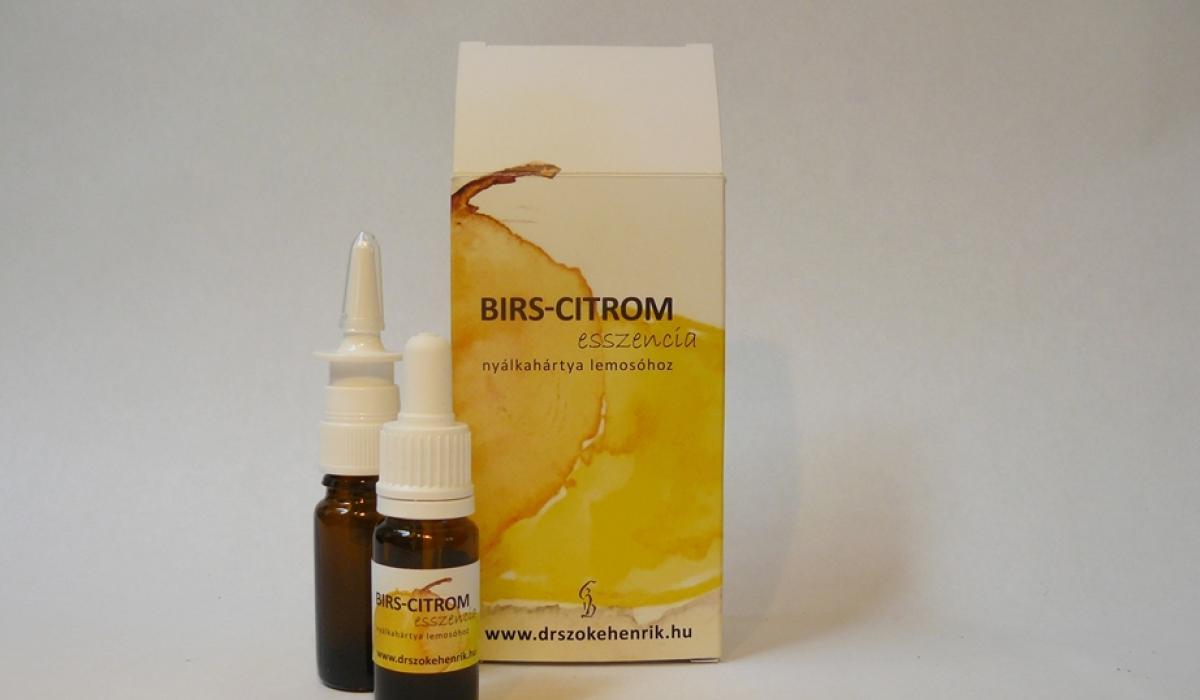Birs - citrom esszencia